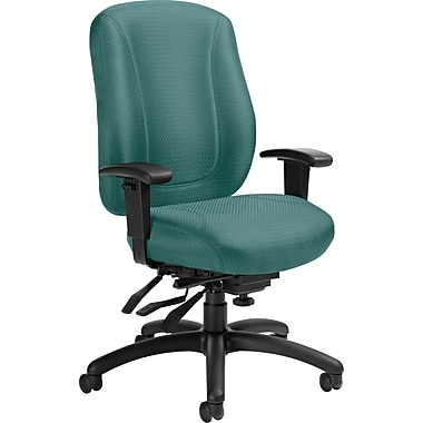 Offices To GoMD – Chaises de bureau Overtime à inclinaisons multiples et dossier élevé, menthe
