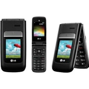 LG A380 Unlocked GSM 3G Flip Camera Cell Phone - Black