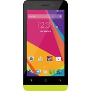 BLU Studio Mini LTE X100Q Unlocked GSM Android Quad-Core Cell Phone - Yellow