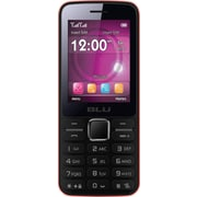 BLU Janet T175 Unlocked GSM Dual-SIM Cell Phone - Red
