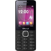 BLU Janet L T230 Unlocked GSM Dual-SIM Cell Phone - Black