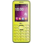 BLU Diva II T275T Unlocked GSM Dual-SIM Cell Phone w/ Analog TV - Yellow