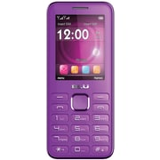 BLU Diva II T275T Unlocked GSM Dual-SIM Cell Phone w/ Analog TV - Purple