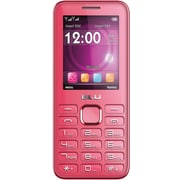 BLU Diva II T275T Unlocked GSM Dual-SIM Cell Phone w/ Analog TV - Pink