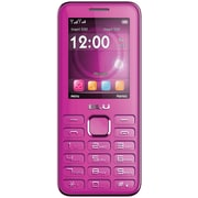 BLU Diva II T275T Unlocked GSM Dual-SIM Cell Phone w/ Analog TV - Magenta