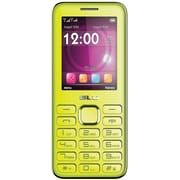 BLU Diva II T275T Unlocked GSM Dual-SIM Cell Phone w/ Analog TV - Lime