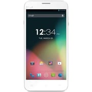 BLU Dash 5.0+ D412u Unlocked GSM Dual-SIM Quad-Core Android Phone - White