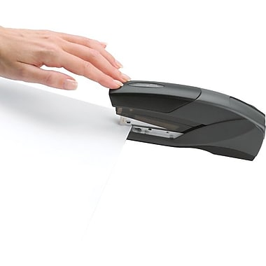 Swingline® EZ Touch Reduced Effort Half Strip Stapler, 20-Sheet Capacity, Black (66424)