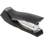 Swingline® SmoothGripDesktop Full Strip Stapler, 20 Sheet Capacity, Black with Gray Accent