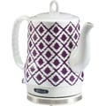 BELLA IKAT Ceramic Kettle Purple