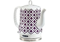 BELLA IKAT Ceramic Kettle Purple