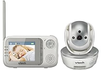 Vtech VM333 Safe and Sound Pan & Tilt Full Color Video Baby Monitor