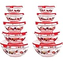 Chef Buddy 20-pcs. Glass Bowl Set