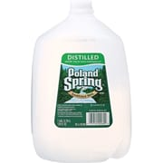 Poland Spring Distilled Water, 1 gallon, 6/pk