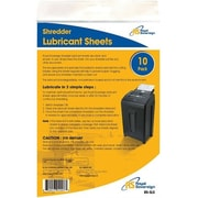 Royal Sovereign® CRS-SLS Shredder Lubricant Sheets, 10/Pack