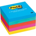 Post-it® 3in. x 3in. Ultra Colors Notes, 5 Pads/Pack