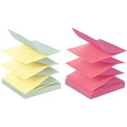 Post-it® 3 x 3 Alternating Ultra Colors Pop-Up Notes, 12/Pack