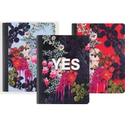 "Cynthia Rowley Composition Book, College Ruled, Assorted Floral, 80 Sheets 9 3/4"" x 7 1/2"" (26943)"