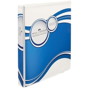 Avery Designer 1-Inch 3-Ring View Binder, Blue Circle (18601)