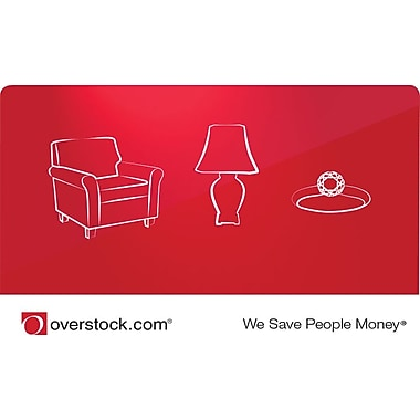 Overstock.com Gift Card 25 Email Delivery