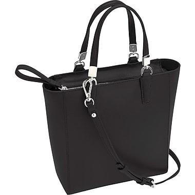 Royce Leather – Sac fourre-tout anti-RFID, noir