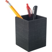 Staples Cloth Pencil Cup, Charcoal