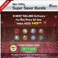 Stellar Utility Super Saver Bundle for Mac (1 User) [Download]