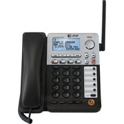 AT&T SynJ SB67148 4 Line Deskset for the AT&T SynJ SB67138 Small Business Phone System Cordless Black