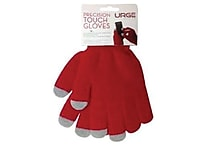 URGE Basics Texting Gloves, Red