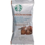 Starbucks Decaf Coffee, Pike Place Roast, 2.5 oz., 72/Box