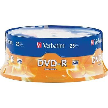 Verbatim® DVD-R 4.7GB, 16x, 25-Pack Spindle