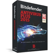 Bitdefender Antivirus Plus 2015 3 User 1 Year for Windows (1-3 Users) [Download]