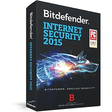 Bitdefender Internet Security 2015 3 User 1 Year for Windows (1-3 Users) [Download]