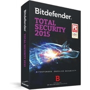 Bitdefender Total Security 2015 3 User 1 Year for Windows (1-3 Users) [Download]