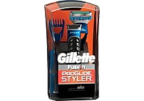 Gillette Fusion ProGlide Styler Bonus Pack with Fusion ProGlide Clear Shave Gel