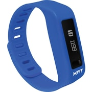 Xtreme X-Fit Wireless Activity Tracker with LCD Display, Blue