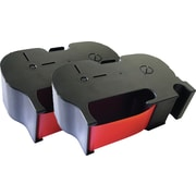 Clover Postage Meter Cartridge for the Pitney Bowes 767-1, Red, 2-Pack
