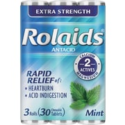 Rolaids Ultra Strength Tablets, Mint, 10 Count