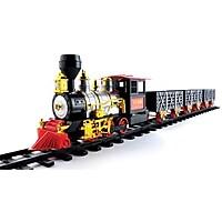 MOTA Holiday Train Set with Real Smoke, Light and Sound
