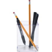Staples Acrylic Purple Edge Pencil Cup