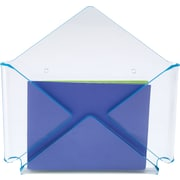 Staples Acrylic Blue Edge Envelope Wall File