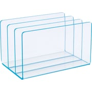 Staples Acrylic Blue Edge Letter Sorter