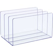 Staples Acrylic Purple Edge Letter Sorter