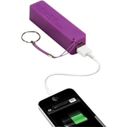 Urge Basics PowerPro 2,000mAh USB Keychain Charger, Purple