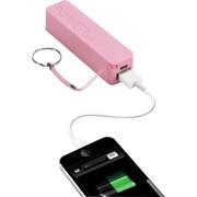 Urge Basics PowerPro 2,000mAh USB Keychain Charger, Pink