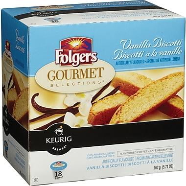 Folgers Vanilla Biscotti K-Cup Refills