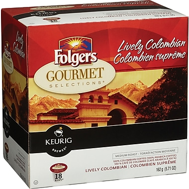 Folgers Lively Colombian K-Cup Refills