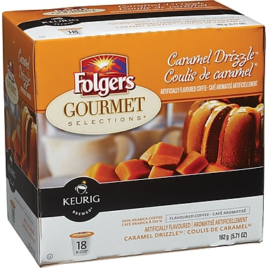 Folgers Caramel Drizzle K-Cup Refills