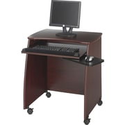 Safco 1953MH Picco Duo Workstation, Mahogany