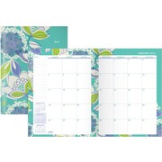 2015 Staples Lace Petal Monthly Planner, 8x11